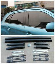 2010-20 For Mitsubishi ASX Outlander Sport Black Roof Rack Rails Bars Luggage