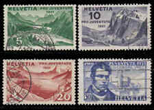 Switzerland #B57-60 Used