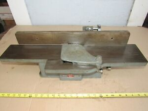 "VINTAGE ATLAS POWER KING 6050 4"" JOINTER PLANER USA"