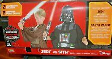 Star Wars Jedi vs Sith Child Costume Trunk Set Battle Chest Dress Up Boys 8-10