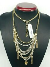 luck brand Gold double-layer necklace