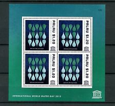 Palau 2013 MNH UNESCO Int World Water Day 4v M/S Desalinization Stamps