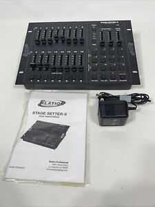 Elation Stage Setter-8 Lighting Controller Dimmer Console Stage Pak 1 W/ Manual