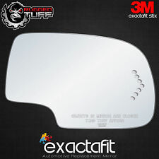 CHEVY GM TRUCK SUV RIGHT SIDE DOOR TURN SIGNAL PASSENGER VIEW MIRROR GLASS LENS