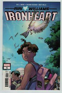 IronHeart 5 Riri Williams Marvel Comics 2019