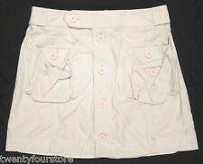 Marc by Marc Jacobs Cargo Utility Khaki Chino Skirt sz 6