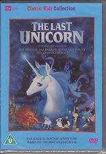 The Last Unicorn (animated) Jeff Bridges, Angela Lansbury New & Sealed R2 DVD