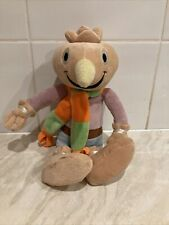 """bob the builder plush soft toy spud scarecrow rare 2007 Beanie 13"""" Hit Official"""