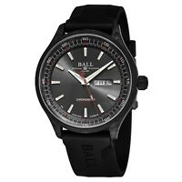Ball Men's Engineer II Volcano Black Dial Rubber Automatic Watch NM3060C-PCJ-GY