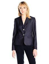 Nine West Womens Suits Polished Denim 2 Button Jacket- Pick SZ/Color.