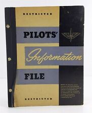 US Army Air Force PIF Pilots Information File May 1945 WWII Militaria Book
