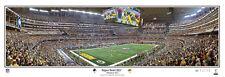 Super Bowl XLV (2011) GREEN BAY PACKERS vs Steelers Panoramic POSTER Print