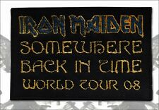 Patch Iron Maiden Somewhere Back In Time Tour Eddie