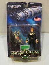 Moc Babylon 5 Susan Ivanova Action Figure 1997 Exclusive Toy Products Lot 2