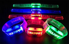 Toys for Girls Boys Light Up Bracelets LED Flashing Party Favors
