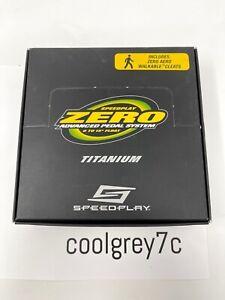 NEW Speedplay Zero Titanium Pedals Road Bike Cycling Ti Black