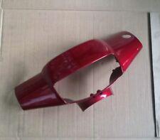 915765 Coprimanubrio Anteriore Piaggio Zip 50 1992 - 1993 Rosso P50350