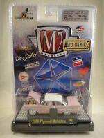 M2 Machines Auto-Thentics 1958 Plymouth Belvedere Pink NEW 1:64 Release 22
