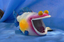 "Exotic Happy Fish Aquarium Decoration 5L x 2-5w x 3h"""