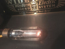 Western Electric 242C tube, same as 211, tested! Audio Perfection at it's best!