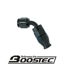 BOOSTEC Swivel PTFE Teflon Hose End/Fitting 4AN AN4 60 degree Black