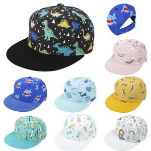 Vogue Kids Printed Baseball Caps Boys Girls Children Hip Hop Cap Summer Sun Hats