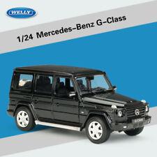 Welly 1:24 Black Mercedes Benz G-Class G500 V8 Diecast Model Car 24012BLK