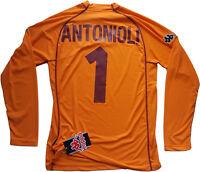 maglia Antonioli ROMA scudetto 2000 2001 Kappa N0 match worn Ina Assitalia L