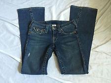 True Religion Joey Twisted Flare Flap Pocket Jeans Size 27 x 32