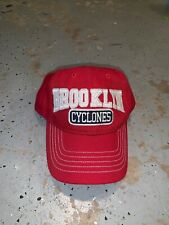 Brooklyn Cyclones Hat Red One Size EUC! 47 Twins