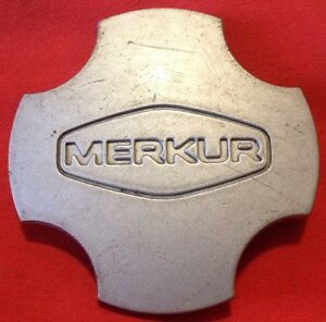 MERKUR XR4TI HUB COVER OEM FORD CENTER CAP WHEEL 87BB-1000-BA 1985 1986 1987 88
