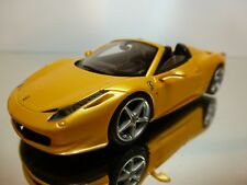 LOOKSMART LS393C FERRARI 458 SPIDER - 1:43 - EXCELLENT CONDITION - 27/45