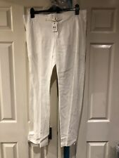 29ba33650f206 Mothercare Mum 2b Maternity White Long Trousers Size 10 With Tags
