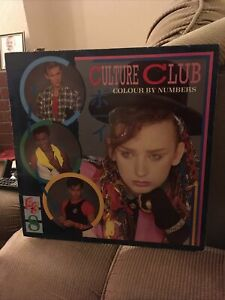 Culture Club - Colour By Numbers Vinyl LP 1983 Virgin Records Vinyl Vvgc