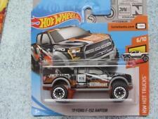 Hot Wheels 2018 #348/365 2017 FORD F-150 RAPTOR black orange  HW Hot Trucks