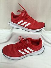 Adidas Sport Performance Red Running Shoes Trainers UK9 EU43.5 VGC FREE P&P