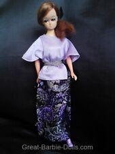 Vintage PETRA STAR Barbie Puppe - echte Wimpern -70er J. - Plasty - Barbie Clone