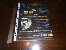 HALLE BERRY - CATWOMAN - DVD MOVIE ADVERT CLIPPING - 2005