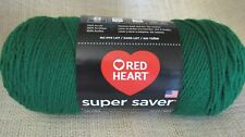 Red Heart Super Saver Yarn Paddy Green Acrylic 7 oz