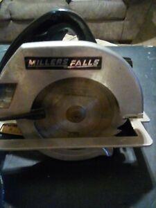 vintage Millers Falls 7 14 inch circular saw