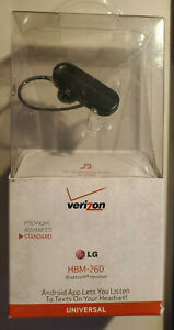 Verizon LG HBM-260 Android Bluetooth Headset New in the Box