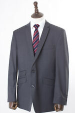 Men's Grey Suit Tailored Fit Gibson Wool Blend 44R W38 L31