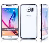 Premium TPU Schutzhülle Schwarz für Samsung Galaxy S6 G920 G920F Tasche Hülle