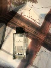 d&g 3 l'imperatrice 100ml eau de toilette perfume display bottle chunky glass