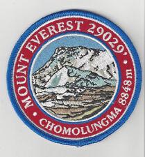 Mount Everest Himalayas Souvenir Patch Chomolungma