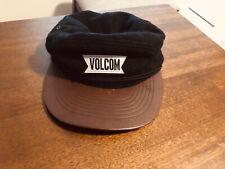Vgt Volcom  Black Faux Vegan Leather Adjustable