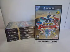 POKEMON COLOSSEUM & BOX RUBY SAPPHIRE NINTENDO GAMECUBE PAL VERS NEW NOT SEALED