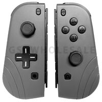 Joy-Con (L/R) Wireless Remote Controllers Set For Nintendo Switch Gray