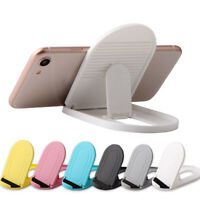 Adjustable Plastic Folding Tablet Mobile Phone Holders Bracket Mount Stand f