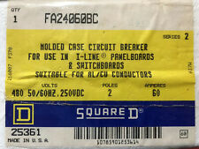 FA24060AC - SQUARE D - NEW - FACTORY SEALED - CIRCUIT BREAKER - FREE SHIPPING!!